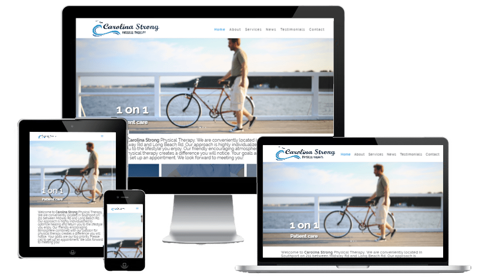 Carolina Strong Physical Therapy | Awesome Website Guys